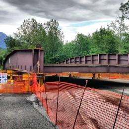 Annone, si rifà il ponte Super 36 chiusa fino a giovedì