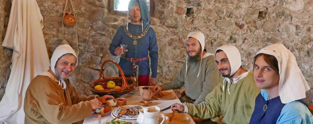 Il Medioevo rivive al castel Grumello