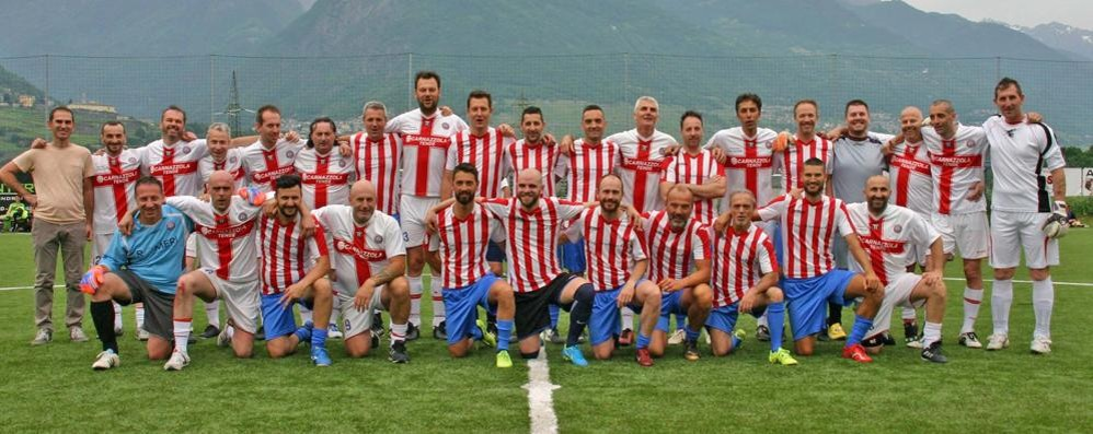 Calcio, festa grande per 500 con l'Albosaggia Ponchiera