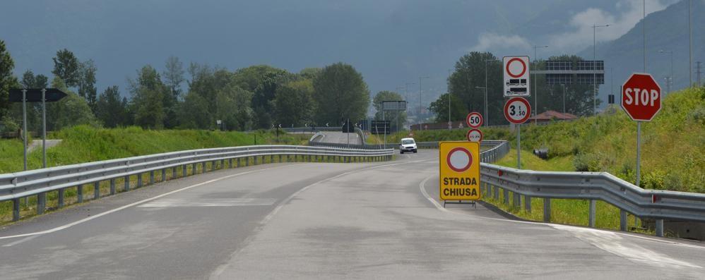 Chiusura totale del ponte sull'Adda  Ordinanza della Provincia a Traona