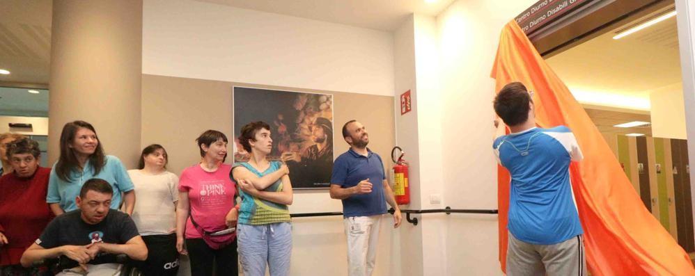 Sondrio, Bianchini ricordato al Centro disabili