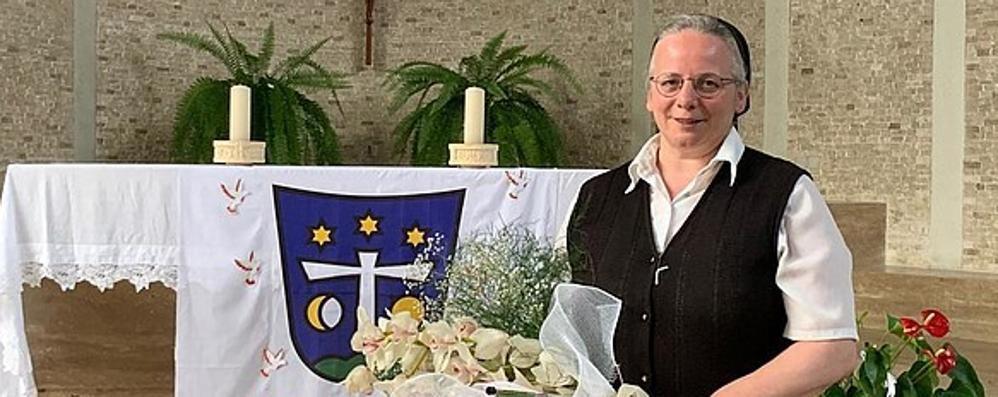 Suor Dorina saluta Sondrio, eletta superiora generale si trasferirà in Svizzera