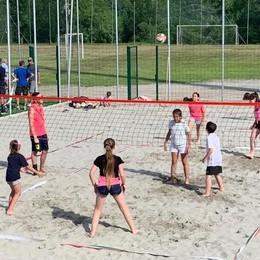 Calcetto e beach volley, al centro sportivo di Bianzone il taglio del nastro