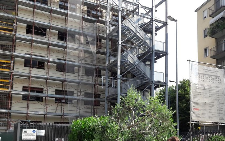 Cantiere infinito all'ospedale di Morbegno  «Vogliamo avere un quadro dei lavori»