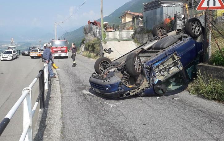 Incidente a Mello: «Strada pericolosa»