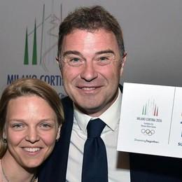 Olimpiadi, decisione vicina  Maxischermo in piazza