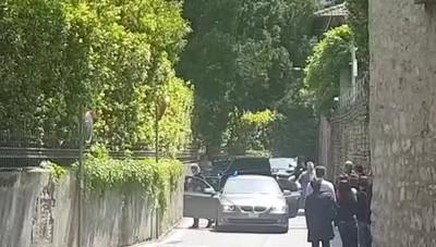 L'arrivo di Obama a Villa Oleandra