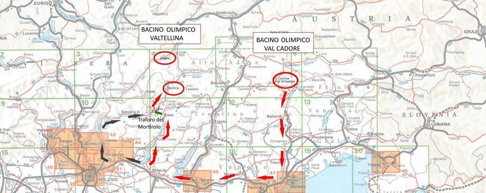 «Bormio-Cortina, distanza enorme.  Ma col traforo...»