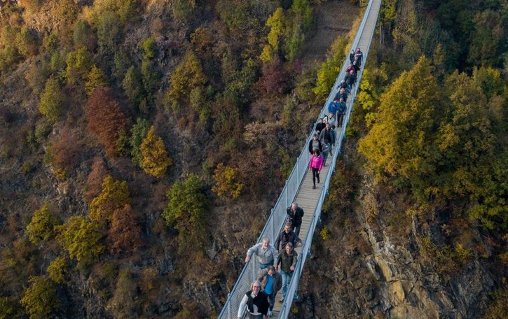 Sette mesi, 70mila visitatori sul ponte