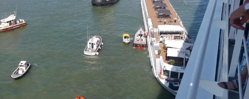 Scontro nave-battello  C'erano due carughesi