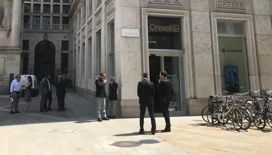 Il Creval a Milano: «Meno alta finanza. Più vicini alla gente» - LaProvincia.it/SONDRIO - Economia, Milano