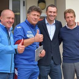 Calcio e ciclismo insieme a Bormio con Basso e il Toro