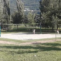 Sondrio, nuovo campo da beach volley: tutti a giocare al Bartesaghi