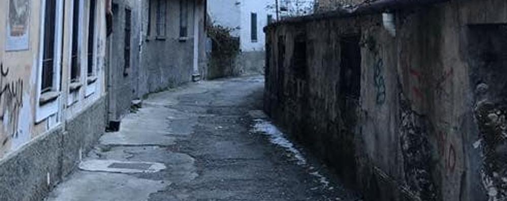 Le Seriole a Morbegno, un angolo di città abbandonato
