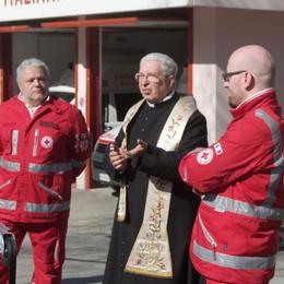 Addio a don Comani, fondò la Croce rossa