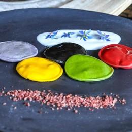 Olimpiadi, lo chef Tarabini presenta i suoi ravioli a cinque cerchi