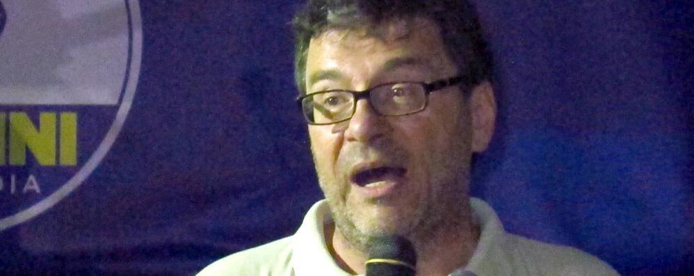 Il Premio Madesimo a Giancarlo Giorgetti