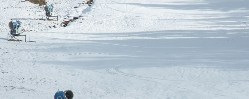 """Skiarea, sì alla """"vasca"""" ai Larici  Investimento da 1,2 milioni"""