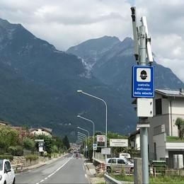 Autovelox a Chiavenna  Da ieri si fa sul serio  Multe sopra i 50 all'ora