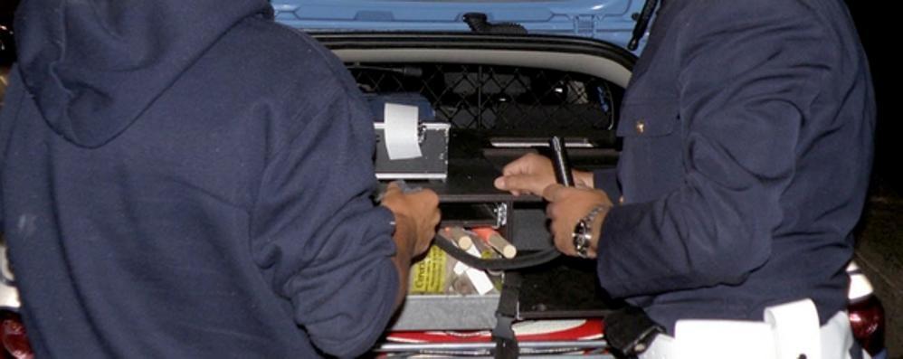 Troppi automobilisti brilli, ritirate altre dieci patenti