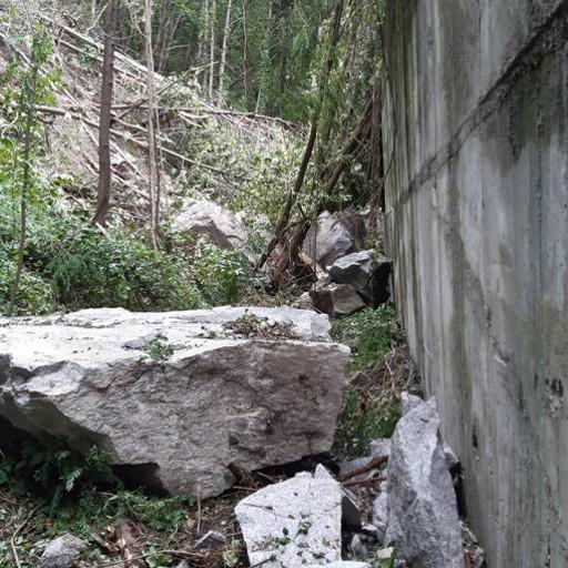 Villa di Chiavenna  Lavori già avviati  per ripulire il versante