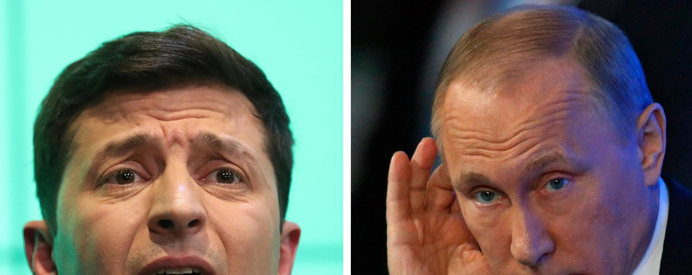 Ucraina: Putin e Zelensky verso summit 'Normandia'