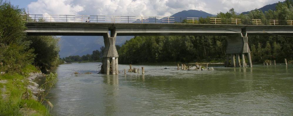 Traona non si oppone ai lavori sul ponte   Papini: «Sull'Adda ne serve uno nuovo»