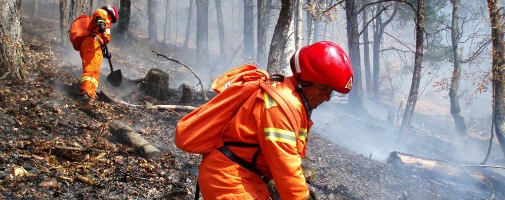 Morbegno, nuove telecamere in arrivo per l'antincendio boschivo