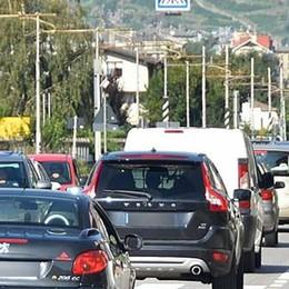 Lavori, traffico in tilt sulla tangenziale  e in località Cà Bianca