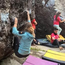 Dopo Gerolasass nuovi cartelloni per l'arrampicata