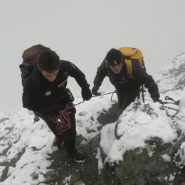 Lanzada, si improvvisano alpiniste: ora rischiano di pagare i soccorsi