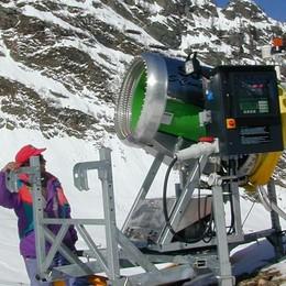 Neve artificiale pronta in 48 ore  «Per Pescegallo è manna dal cielo»