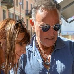 Springsteen sul lago di Como  Festa per il compleanno della moglie