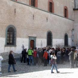 Gli ultimi ritocchi al castel Masegra, conto alla rovescia per il nuovo museo a Sondrio
