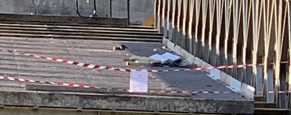 Ponte provvisorio di Villa di Tirano sotto sequestro: «Carenze sulla sicurezza»