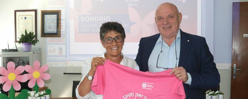"""Sondrio, torna l'""""Ottobre in rosa""""  In programma 119 eventi"""