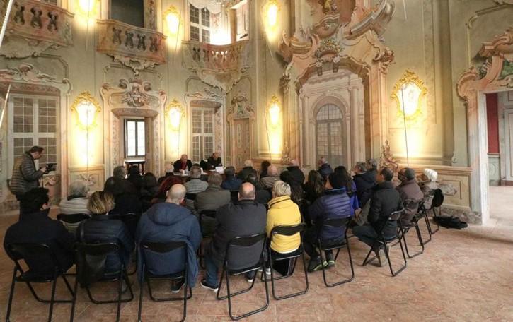 Palazzo Malacrida, conto alla rovescia  Gavazzi: «Inaugurazione in primavera»