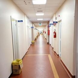 Covid, nuovo reparto a Sondalo  per far fronte all'incremento di casi