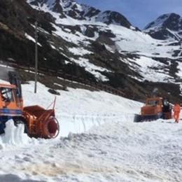 Sgomberato dalla neve   Spluga di nuovo transitabile