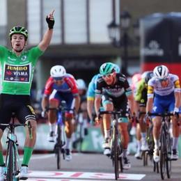 Vuelta, Andrea   carico per il gran finale