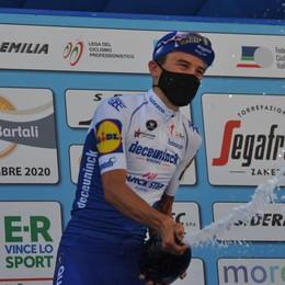 Sul podio alla Vuelta  Bagioli terzo di tappa  in una stagione al top