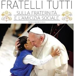 """""""Fratelli tutti"""": l'enciclica del Papa  In regalo con """"La Provincia di Sondrio"""""""