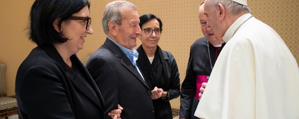 Don Roberto Malgesini  Il grazie di papa Francesco