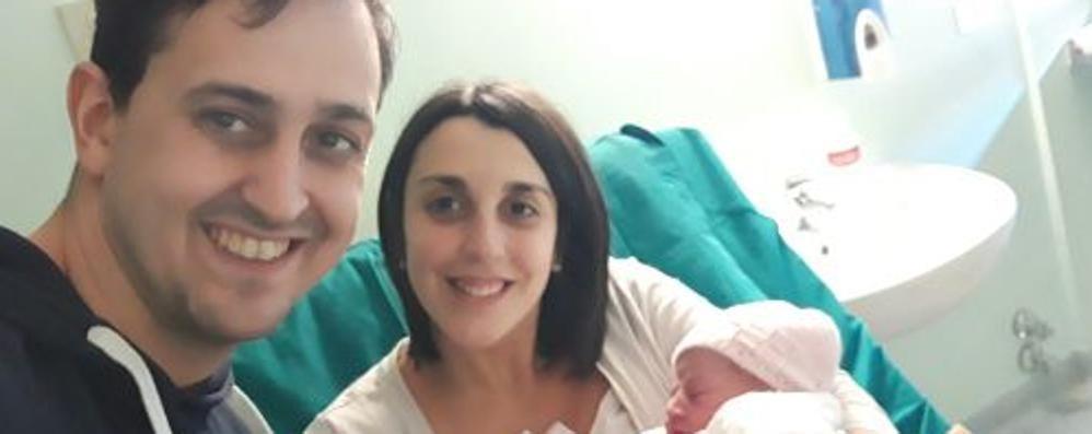 Famiglia in quarantena  L'ultimo giorno è nata Anna