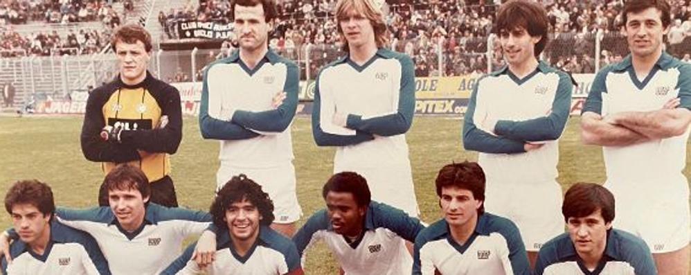 L'emozione di Bordoni  «La mia partita con Maradona»
