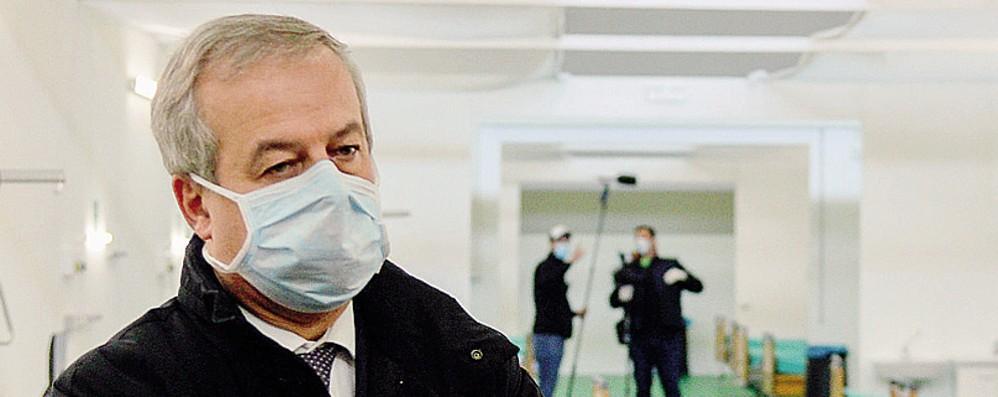 Locatelli: «Calano Rt  e terapie intensive»