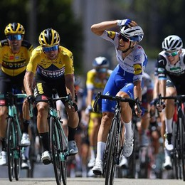 Bagioli, congedo alla Vuelta  Ma resta un bel terzo posto
