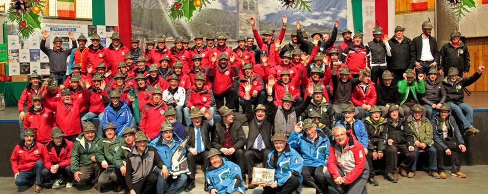 Alpini pronti a ripartire  «Uniti sempre»