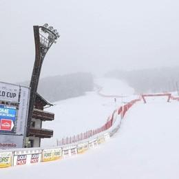 Coppa del mondo  allungata dalla neve