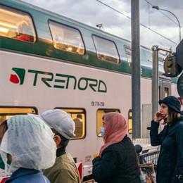 Lombardia: allarme neve  Meno treni in circolazione